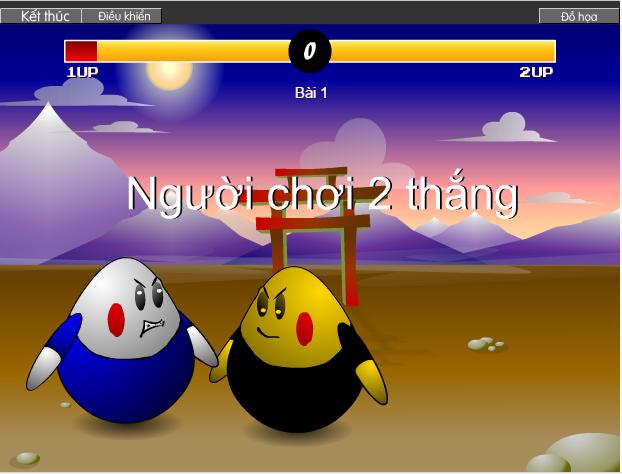 choi game võ sĩ trứng đấu