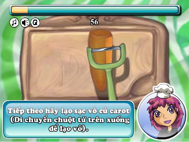 game bánh kem cà rốt