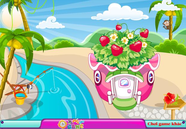 game căn phòng trái cây