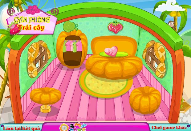 choi game căn phòng trái cây