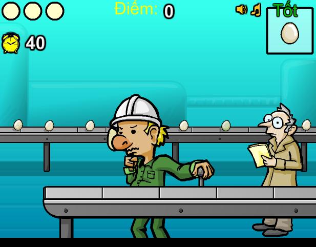 game công nhân nhà máy