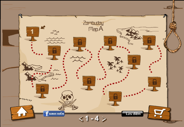 choi game đầm lầy zombie