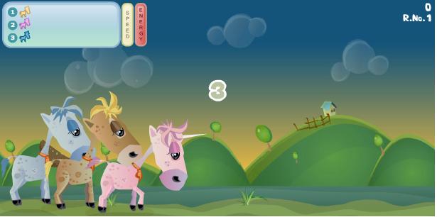 game đua ngựa tren thảo nguyên
