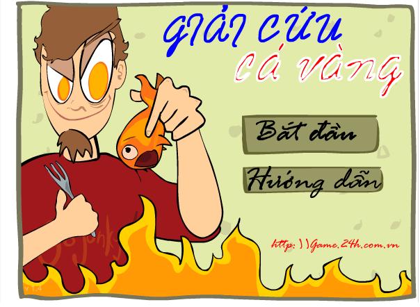 giải cứu cá vàng
