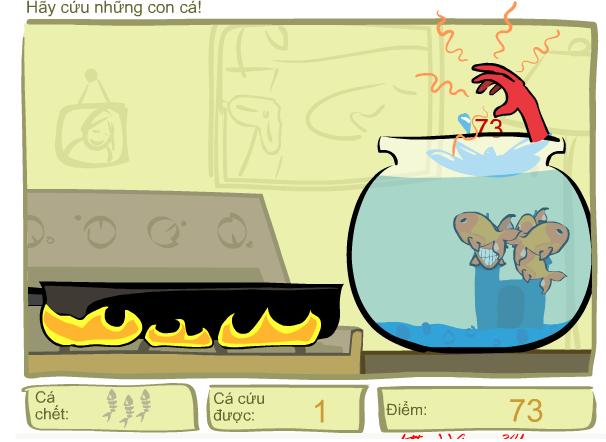 choi game giải cứu cá vàng