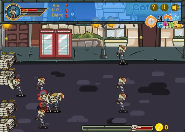 choi game zombie vỡ tổ