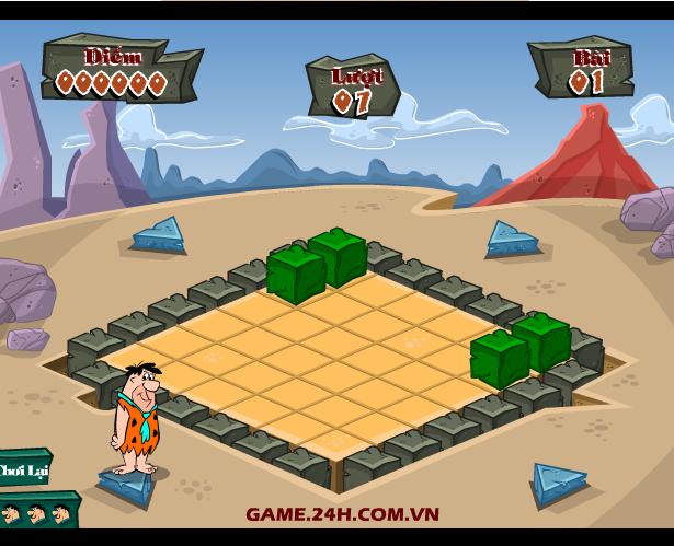 chơi game đập đá ở đảo hoang