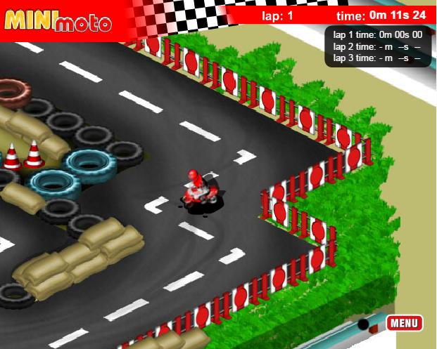 game đua mô tô mini