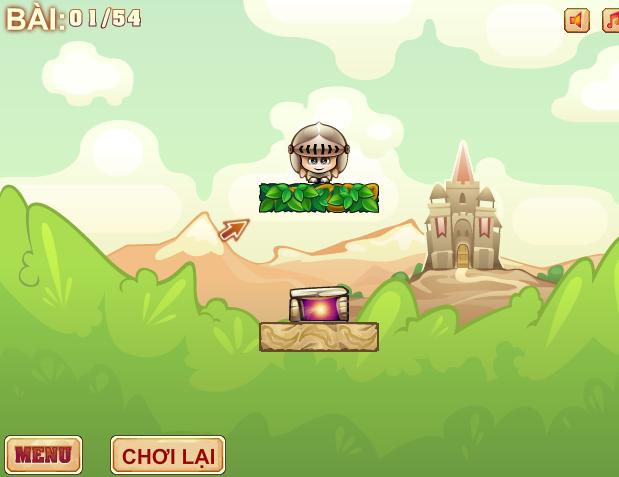 game đường về lâu đài