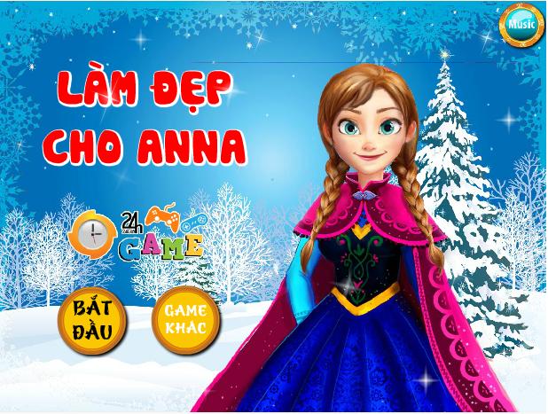 làm đẹp cho Anna