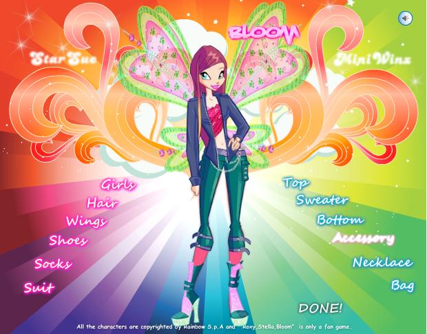 game thời trang Roxy