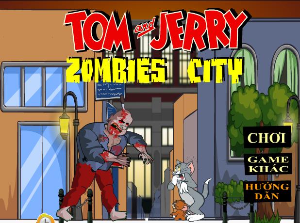 Tom và Jerry ở thành phố ma