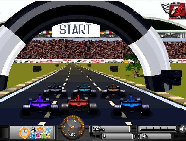game đua xe công thức 1