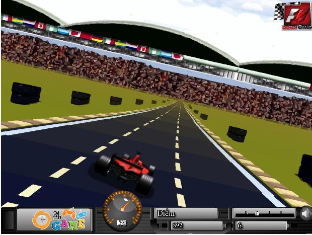 chơi game đua xe công thức 1