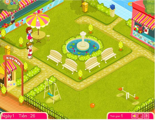 choi game quản lý vườn trẻ