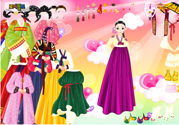 game thời trang Hàn Quốc