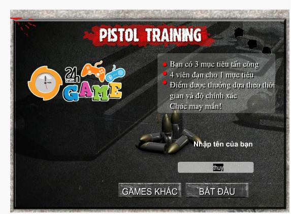 trại huấn luyện xạ thủ