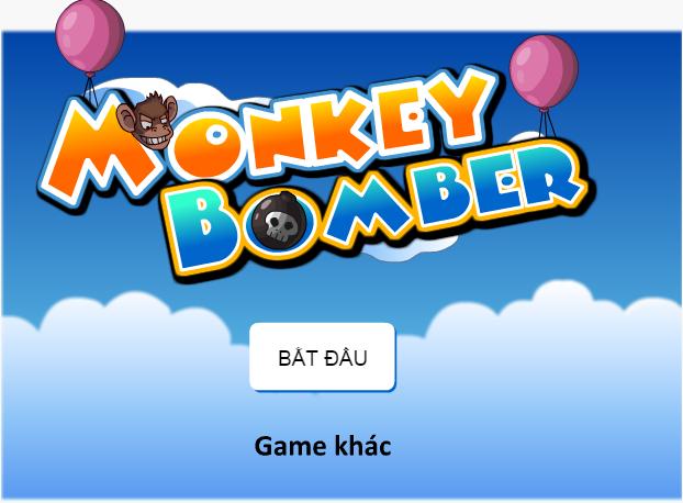 khỉ đột thả bom