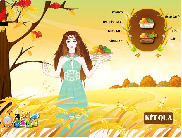 game nữ thần mùa thu