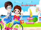 Game Thời trang du lịch biển