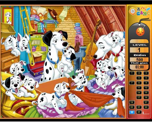 game 101 chú chó đốm