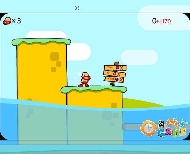 game băng qua đại dương