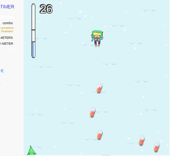 game chinh phục núi tuyết=