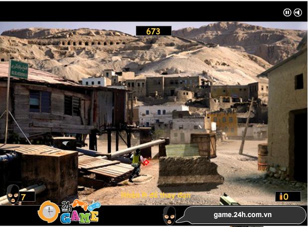 choi game chống khủng bố 2