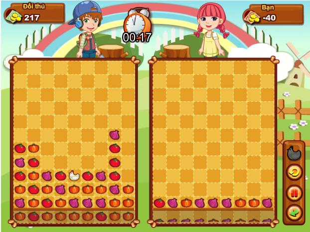 game cuộc chiến nông trại