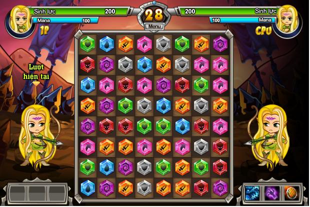 game đại chiến kim cương