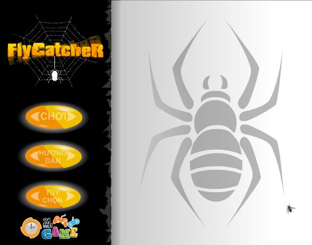 game nhện bắt ruồi