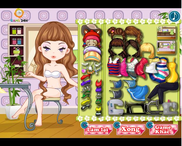 game thời trang nhà tạo mẫu
