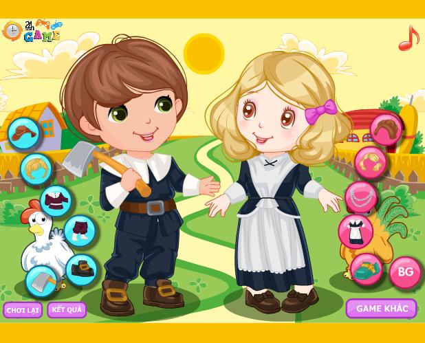 game thời trang nông trại