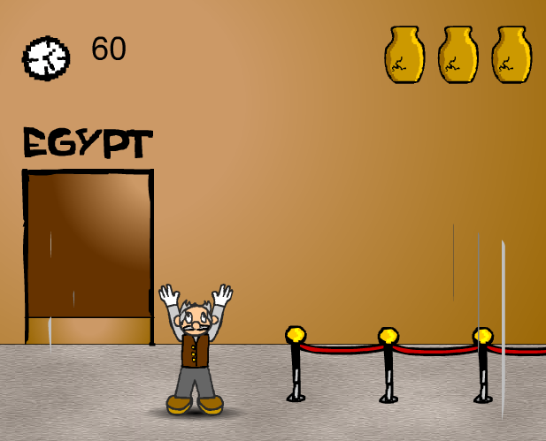 game bảo vệ bảo tàng