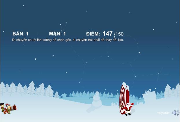 game đoàn xiếc Noel