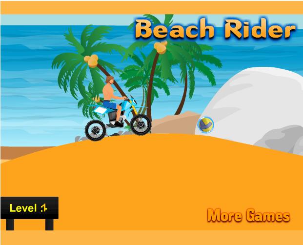 game đua xe bên bãi biển