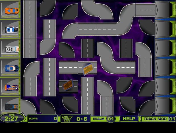 game ma trận ô tô