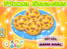 Game Pizza xúc xích