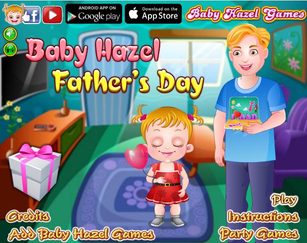 baby Hazel ngày của cha