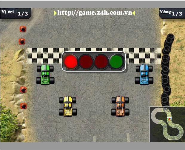 game đua xe hạng nặng
