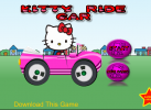 Game Kitty lái xe