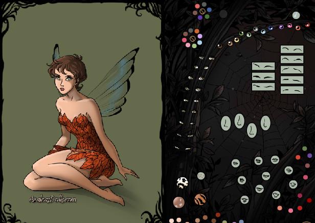 game thời trang thiên thần bóng tối