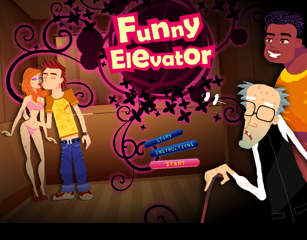 chọc phá trong thang máy