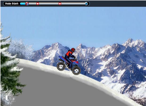 game đua xe trên tuyết