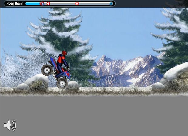 choi game đua xe trên tuyết