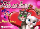Game Game mèo Tom kissing