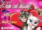 Game Game Mèo Tom Kissing