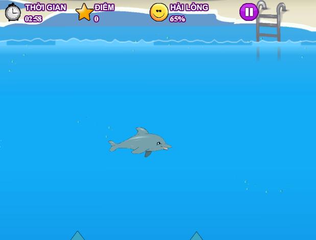 game xiếc cá heo