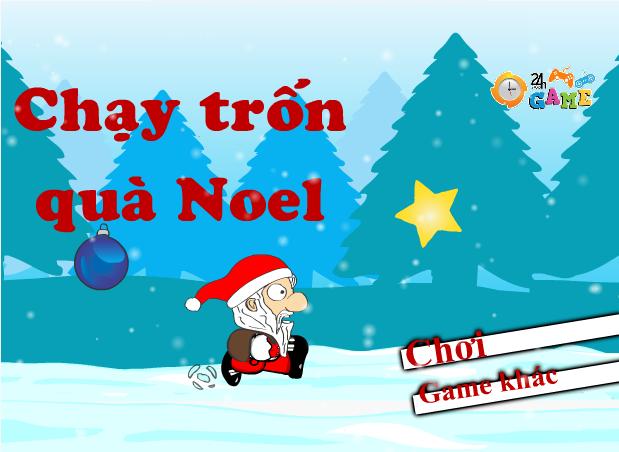chạy trốn quà Noel