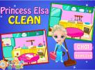 Game Elsa dọn nhà